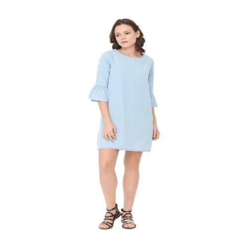 People Blue Mini Dress