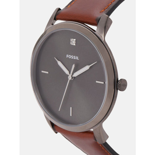 Fossil Charcoal Grey Analogue Watch FS5479