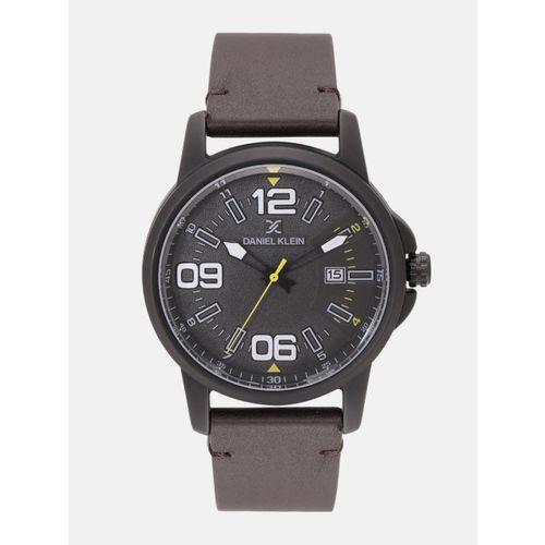 Daniel Klein Premium Men Black Analogue Watch 12131-6