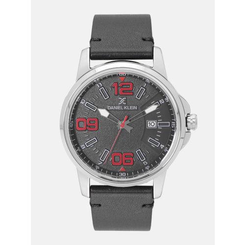 Daniel Klein Premium Men Charcoal Grey Analogue Watch 12131-2