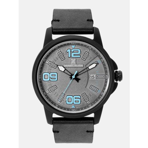 Daniel Klein Men Charcoal Grey Analogue Watch DK12131-5