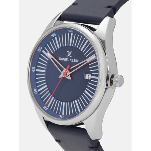Daniel Klein Premium Men Navy Blue Analogue Watch 12115-4