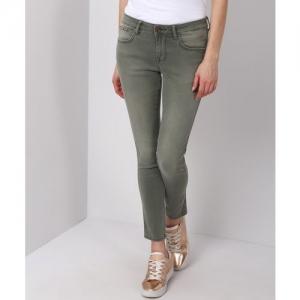 Wrangler Skinny Women Green Jeans