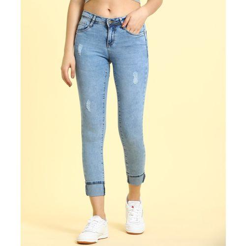Kraus Jeans Skinny Women Light Blue Jeans