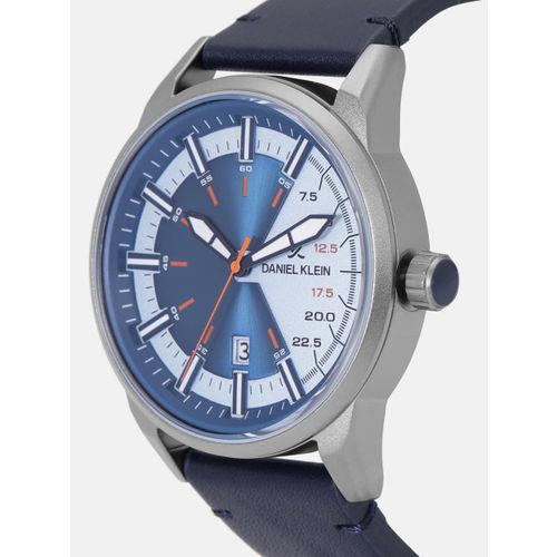 Daniel Klein Premium Men Blue Analogue Watch 12151-3