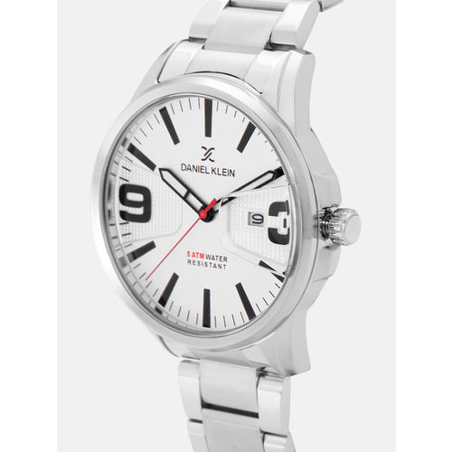 Daniel Klein Premium Men White Analogue Watch 12150-1