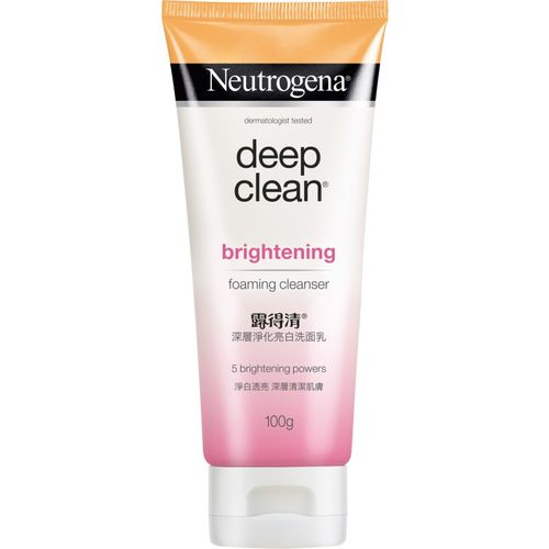 Neutrogena Deep Clean Brightening Foaming Cleanser Face Wash(100 g)