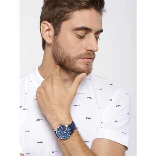 Daniel Klein Premium Men Navy Blue Analogue Watch 12153-2