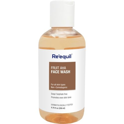 Re'equil Reequil Fruit AHA Face Wash - 200ml Face Wash(200 ml)