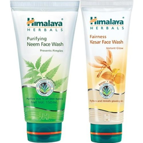 Himalaya Purifying Neem and Fairness Kesar Face Wash(300 ml)