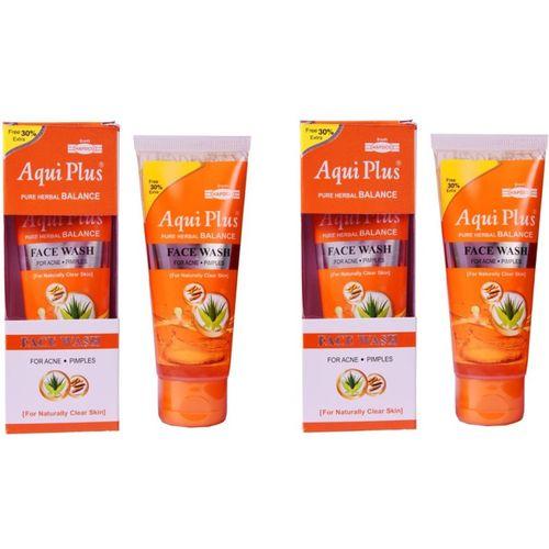 HAPDCO AQUI PLUS-PURE HERBAL BALANCE FACEWASH Face Wash(100 ml)