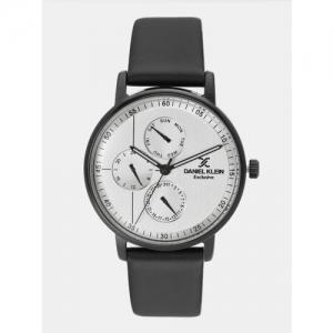 Daniel Klein Exclusive Silver-Toned Analogue Watch DK12005-6
