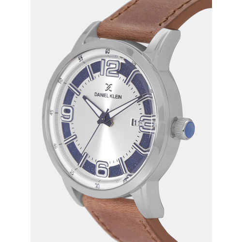 Daniel Klein Premium Men Silver-Toned Analogue Watch DK12013-3