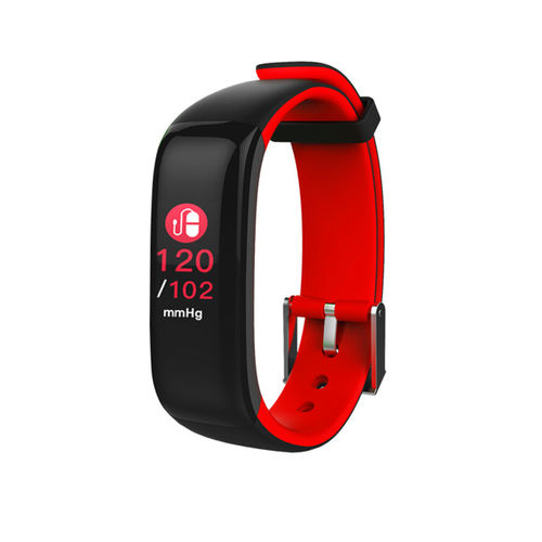 HAMMER Red Fit Pro Waterproof Smart Fitness Band