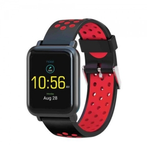 NOISE Unisex Red & Black Colorfit Pro Fitness Band