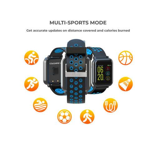 Noise Unisex Blue & Black Colorfit Pro Smartwatch