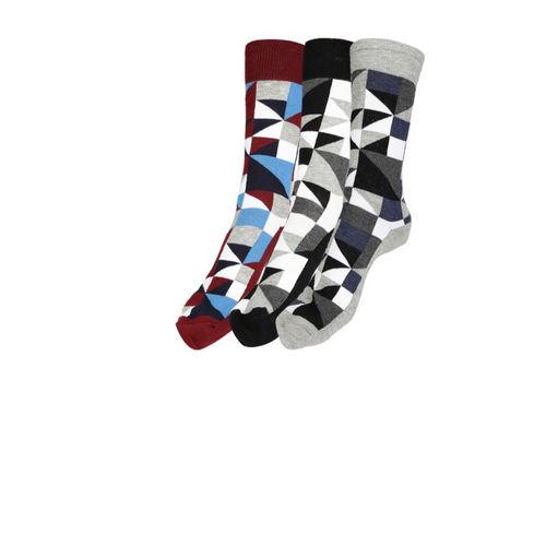 Mast & Harbour Men Pack of 3 Patterned Socks