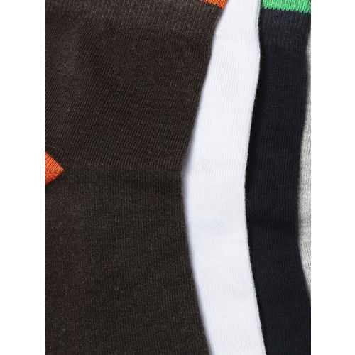 Mast & Harbour Men Set of 5 Above Ankle-Length Socks