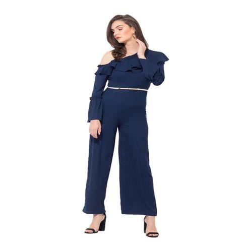 Kazo Navy Maxi Jumpsuit