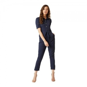 Miss Chase Navy Maxi Jumpsuit