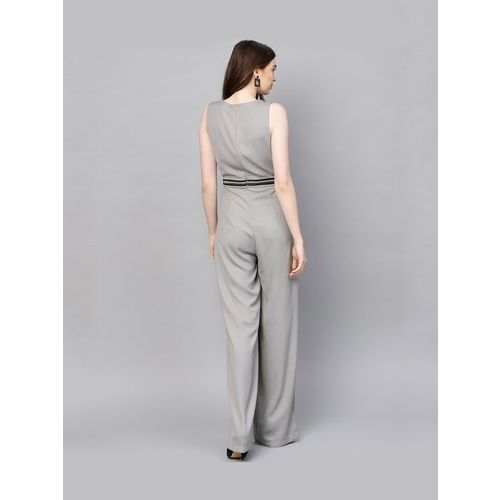 Kazo Grey Maxi Jumpsuit