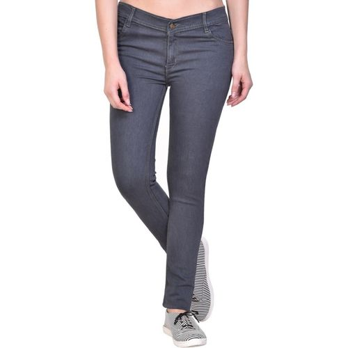 NJS Regular Women Grey Jeans
