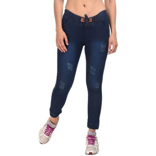 Essence Slim Women Dark Blue Jeans