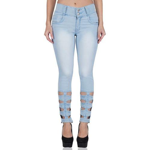 Luxsis Skinny Women Light Blue Jeans