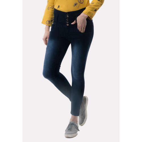 AAKRITHI Regular Women Dark Blue Jeans