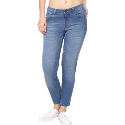Broadstar Premium Denim Skinny Women Light Blue Jeans