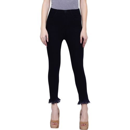 Girlish Regular Women Black Jeans