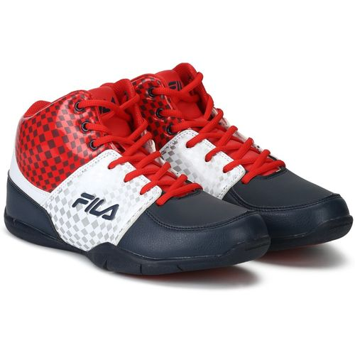 Fila REBOUND-4 Basketball Shoes For Men(Multicolor)