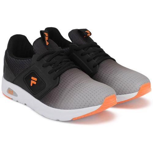 Fila NELSON Walking Shoes For Men(Black, Grey)