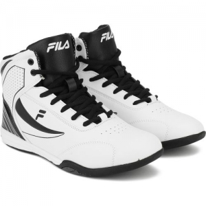 Fila Ramen White Basketball Shoe For Men