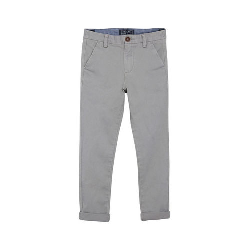 next Boys Grey Regular Fit Solid Regular Trousers