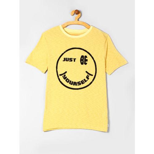 GAP BoysYelllow Graphic Short Sleeve T-Shirt