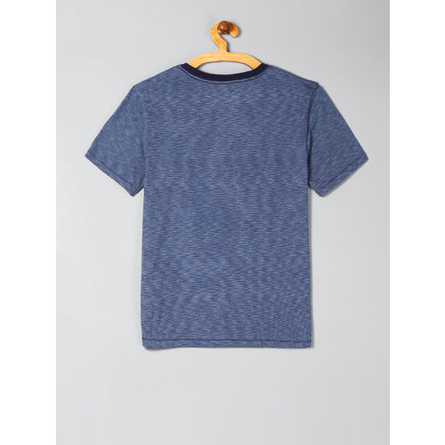 GAP Boys Navy Blue Graphic Short Sleeve T-Shirt