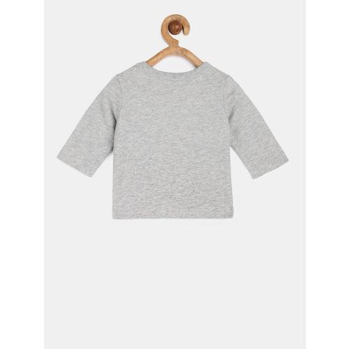 GAP Baby Boy Grey Graphic Long Sleeve T-Shirt