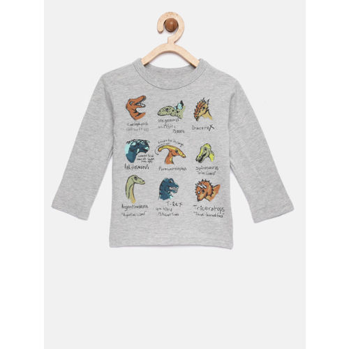 GAP Baby Boys' Graphic Long Sleeve T-Shirt