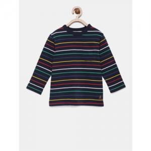GAP Boys' Stripe Long Sleeve T-Shirt