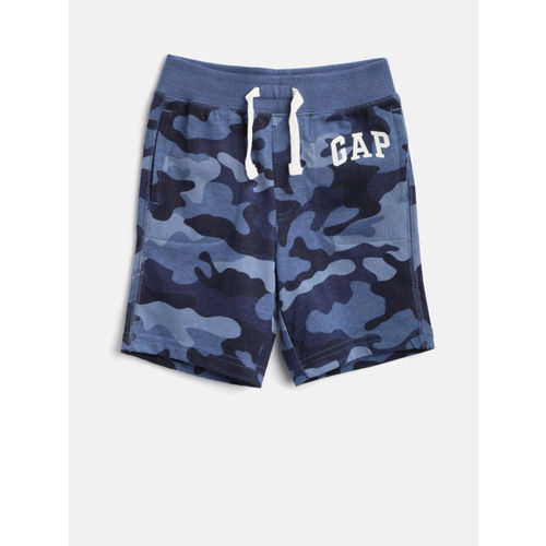 GAP Baby Boy Logo Graphic Shorts