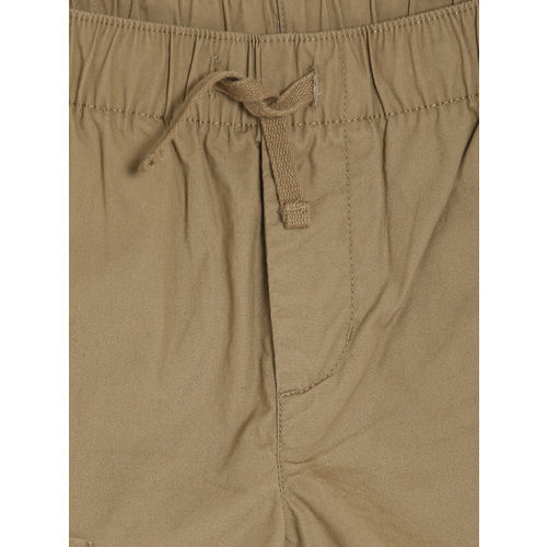 GAP Boys' Tan Brown Zip Pull-On Shorts