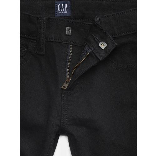 GAP Boys' Superdenim Everblack Skinny Jeans with Fantastiflex
