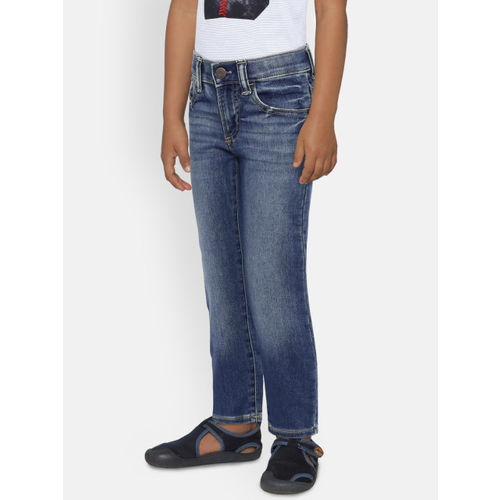 GAP Boys' Blue Slim Jeans in Supersoft