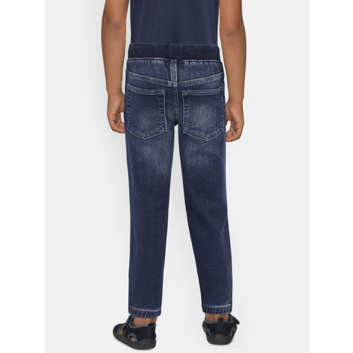 GAP Boys' Blue Pull-On Denim Joggers