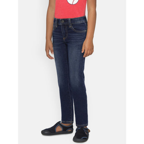 GAP Boys' Indigo Blue Slim Jeans in Supersoft