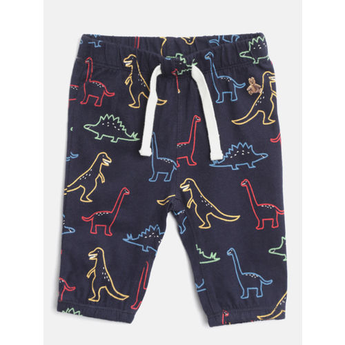 GAP Baby Boy Navy Blue Brannan Bear Pull-On Pants