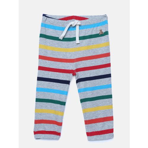 GAP Baby Boys' Multicoloured Crazy Stripe Pull-On Pants