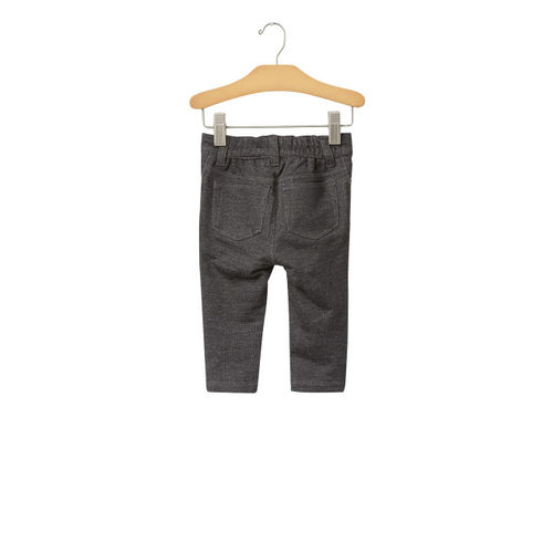 GAP Baby Boys' Charcoal Grey Five-Pocket Knit Pants
