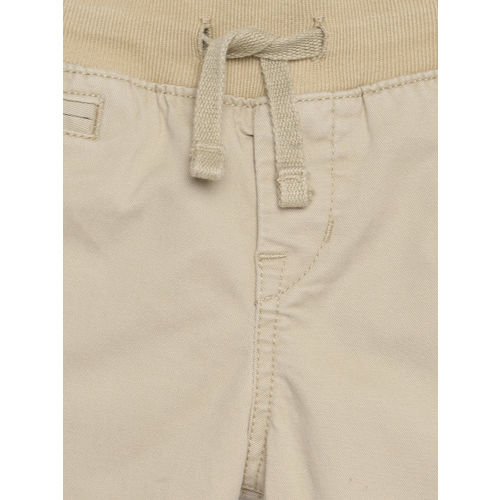 GAP Boys' Beige Pull-On Khakis